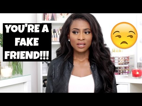 15 SIGNS YOU'RE A FAKE/TOXIC FRIEND | #JJSPEAKS