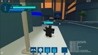 I AM BAT MAN *ROBLOX* Superhero smackdown