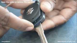 Replace Suzuki Key Battery