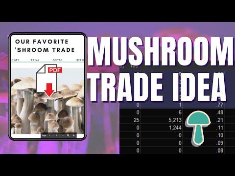 Mushroom Stock and Options Trade Idea | Unusual Options Activity
