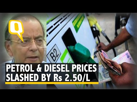 Government Cuts Petrol, Diesel Prices By Rs 2.50 Per Litre