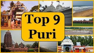 Puri Tourism | Famous 9 Places to Visit in Puri Tour