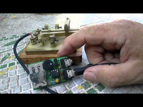 Morse Code Paddles and Keyer