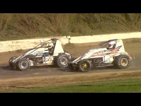 RUSH Sprint Car Heat One | Genesee Speedway | 9-16-18