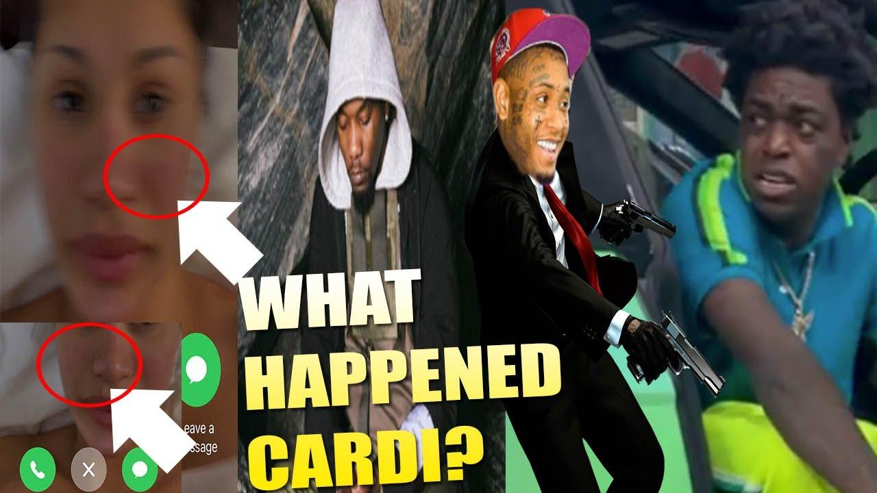 Did Cardi B GET 🥊  + Cops INVESTIGATING H1TMAN Southside for Kodak Black SH00TING