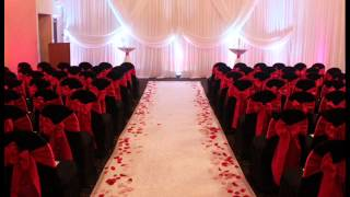 Satin Chair Covers - Ceremony And Wedding Event Ideas And Decor