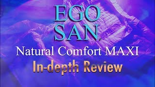 EGO SAN® Natural Comfort Maxi Adult Diaper  In-Depth Review Incontinence #adultdiaper