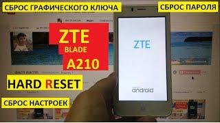 Hard reset ZTE Blade A210