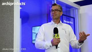 Orgatec 2018 | VETROSPACE - Jouko Urpolahti presents the fresh ideas