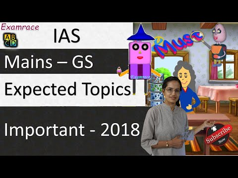 Expected Topics For UPSC Mains 2018 👌 👏 (Important - Examrace)