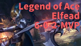 Elfead (6-0-2 MVP) Legend of Ace - Mobile MOBA Game
