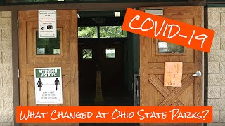 Camping at Ohio Stąte Parks with COVID-19 Restrictions