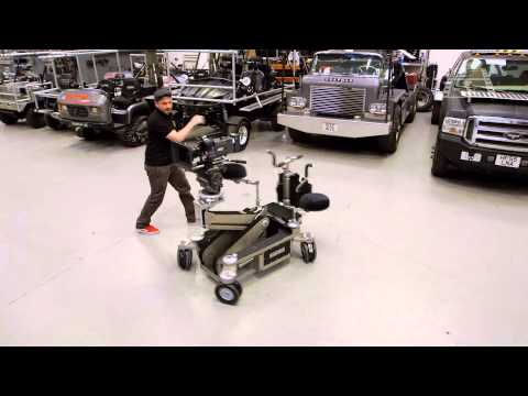 Film & Video Grip Equipment: The Hybrid 4 Camera Dolly at Chapman UK