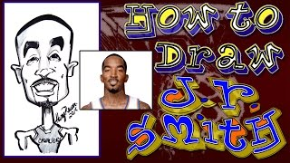How To Draw a Quick Caricature J.R. Smith