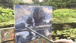 EDWARD SEAGO STYLE - LUCAN GRAND CANAL  -  Background music from Jazzin