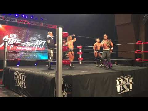 Young Bucks Bring Out Cody ROH State Of The Art San Antonio TX