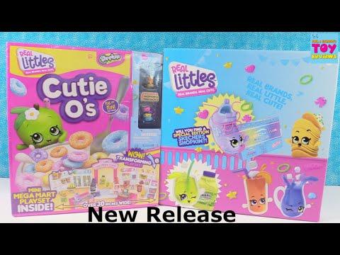 Shopkins Real Littles Mini Mega Mart Blind Bag Toy Unboxing Review | PSToyReviews