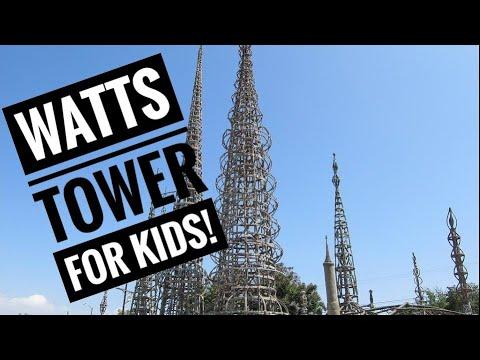 The Watts Towers of Simon Rodia Documentary for Kids