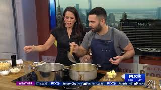 What's for dinner? Bon Appetit's Andy Baraghani makes pasta with brown butter, lemon and parmesan