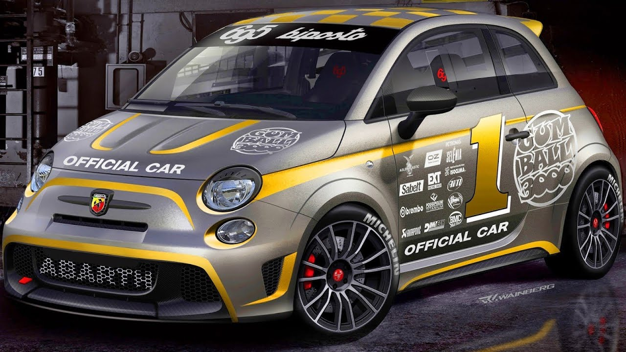 abarth 695 biposto 2014 gumball 3000 1 4 turbo 190 cv 0 100 kmh 5 9 s 996 kg youtube. Black Bedroom Furniture Sets. Home Design Ideas