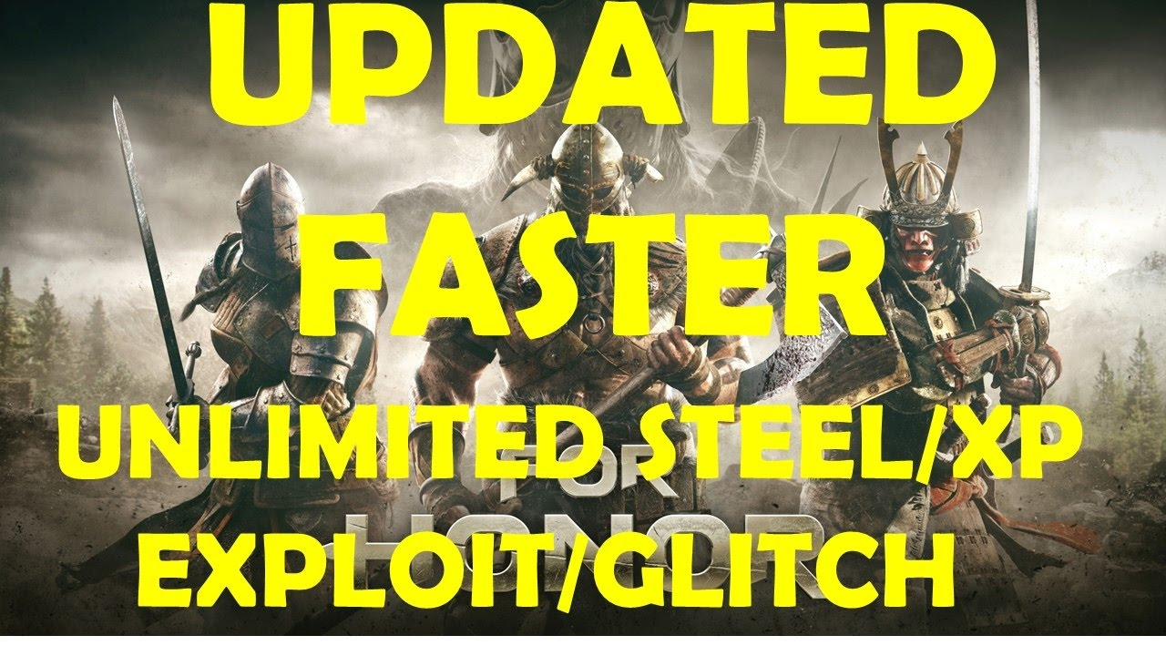 for honor how to get steel