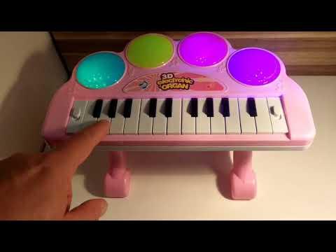 3D ORGAN TOY KEYBOARD FROM WWW.TOYKINGUK.CO.UK #PIANO #MUSIC #KEYBOARD #XMASTOY