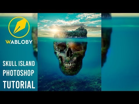 How To Create A Skull Island In Adobe Photoshop