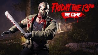 PLAYING AS JASON!! (Friday the 13th Game)