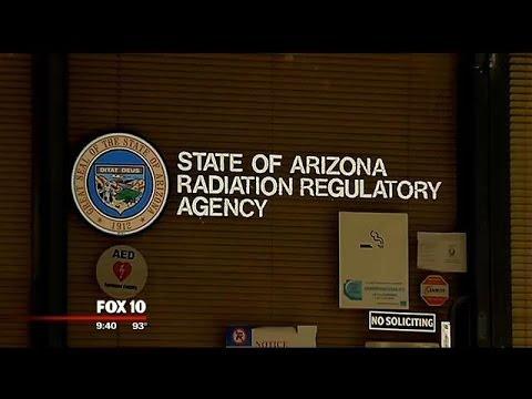 Arizona agency tracks radiation: tests regularly for any problems