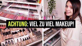 Meine ALTE Makeup Kollektion / Aufbewahrung + Studio Tour! - ich ziehe um 🥴