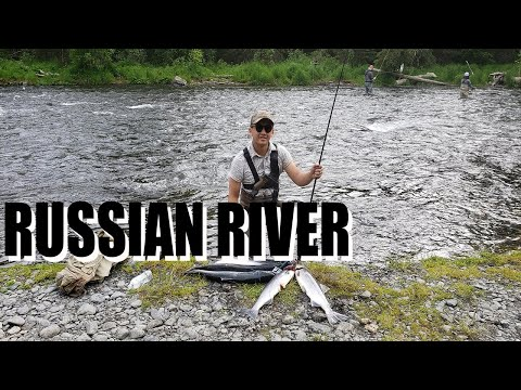 HOW TO SET UP YOUR FISHING ROD FOR RUSSIAN RIVER | FISHING ALASKA