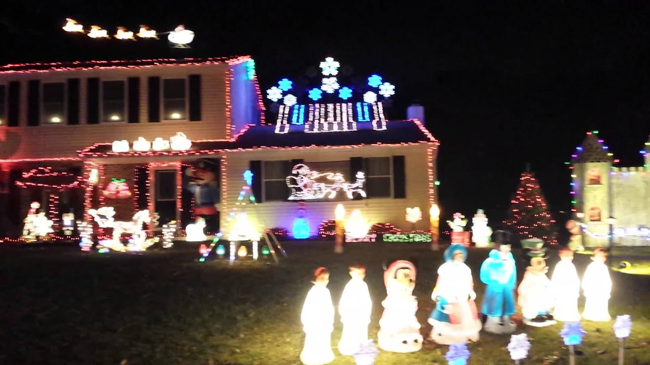 The Drelicks Christmas Lights - YouTube