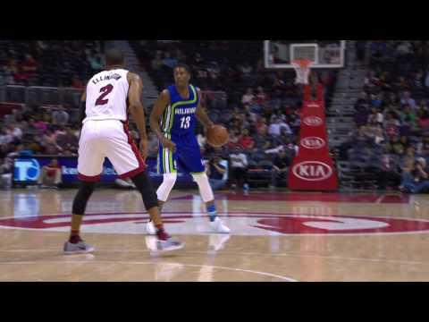 NBA D-League Gatorade Call-Up: Lamar Patterson to the Atlanta Hawks