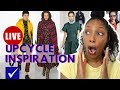 Best Fall/Winter Thrift Haul | Upcycle Inspiration from Fashion Week Runway Shows