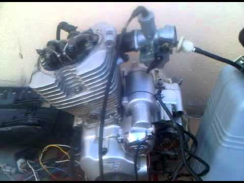 first start of lifan lf200gy 5 dirt bike engine