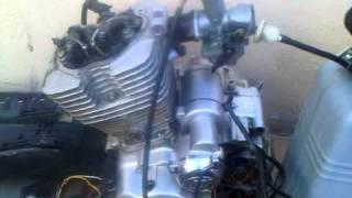 First start of LIfan LF200GY-5 dirt bike engine