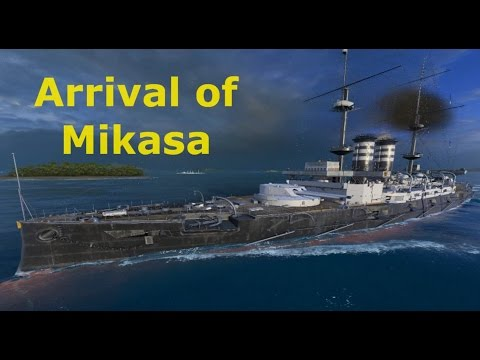Warships - Arrival of Mikasa