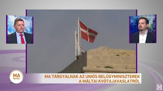 Ma tárgyalnak az uniós belügyminiszterek a máltai kvótajavaslatról