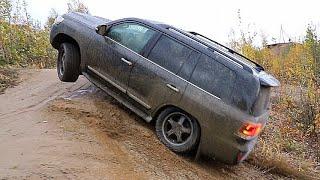 Мы снова УБИВАЕМ новые  -  Toyota LC200 Vs Fortuner!