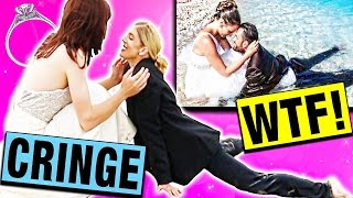 The wedding cringe is real! Thumbs up this video if you want us to do a PART 3 and if it gets 40k thumbs up I'll sit in an ICE BATH! Join the #ZamFam and let's hit ...