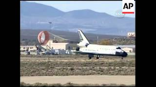WRAP Space shuttle Endeavour lands safely; ADDS more