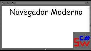 Navegador Moderno Personalizado - Visual Studio C#