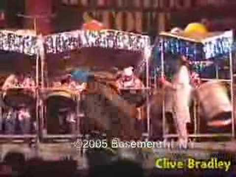 Master Arranger - Clive Bradley - steelband clips