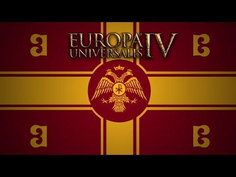 Europa Universalis IV -- Opening Moves as Byzantium