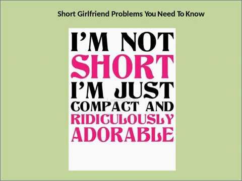 Short Girl Dating Problems