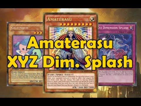 Amaterasu XYZ Dimension Splash FaDe