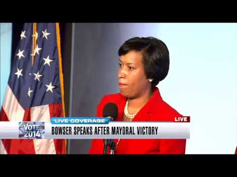 Mayor-elect Bowser post-Election Day press conference