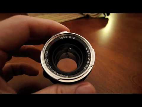 The Zeiss ZM 50 Planar F2 Lens Review