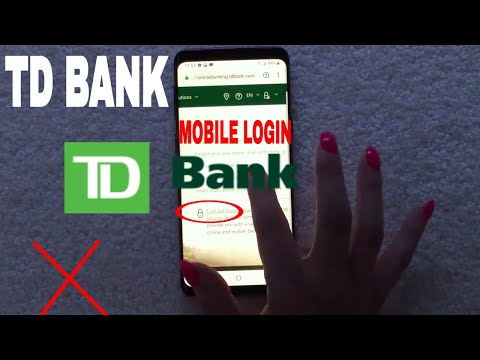 ✅  How To Register Login Find Password TD Bank Mobile Website 🔴