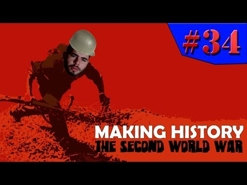 Making History: The Second World War - E FINALMENTE CHEGAMOS AOS YANKES!!! #34 (Gameplay/PC/PTBR) HD